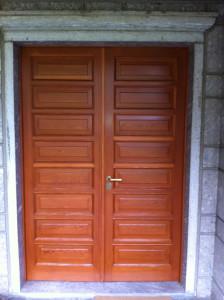 Piccinelli Serrmanenti, Verniciatura, Porte interne, porte blindate PVC