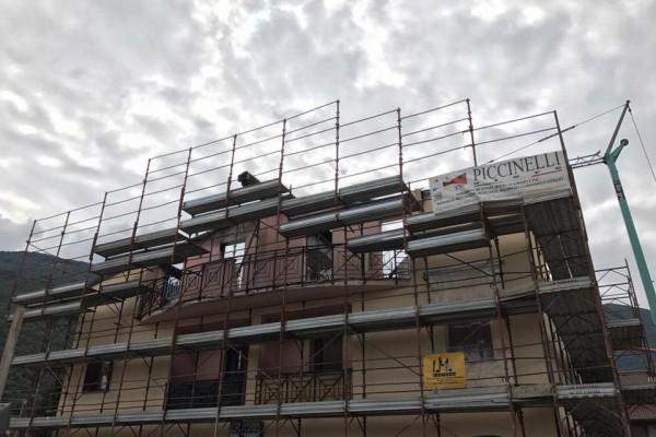 Ricostruzione 4 appartamenti dopo incendio